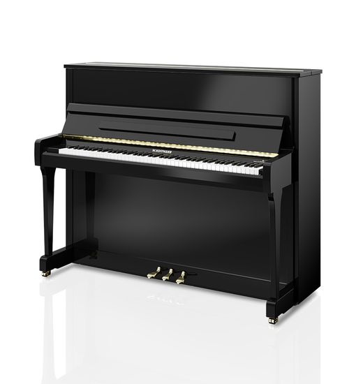 W. Hoffmann Vision V120 Traditional Upright Piano Black NEW